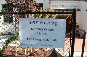 Welcome back to Beach! First BPO Meeting Monday, Sept 17